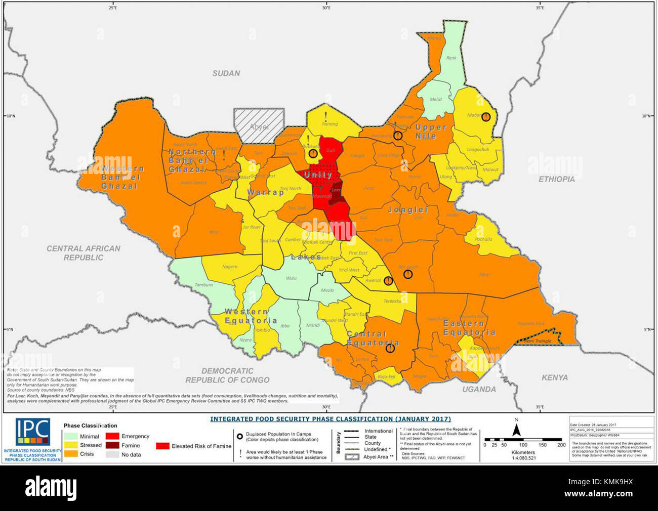 SouthSudan - Stock Image