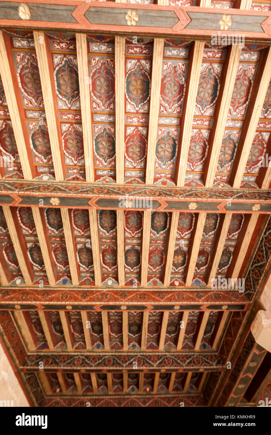 Abbey of Santo Domingo de Silos, Benedictine monastery masterpiece of Romanesque art, Burgos Province, Spain - Stock Image