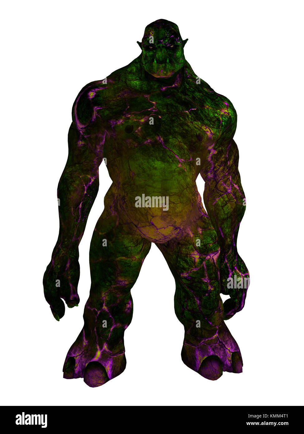 Green Ogre Cut Out Stock Images & Pictures - Alamy