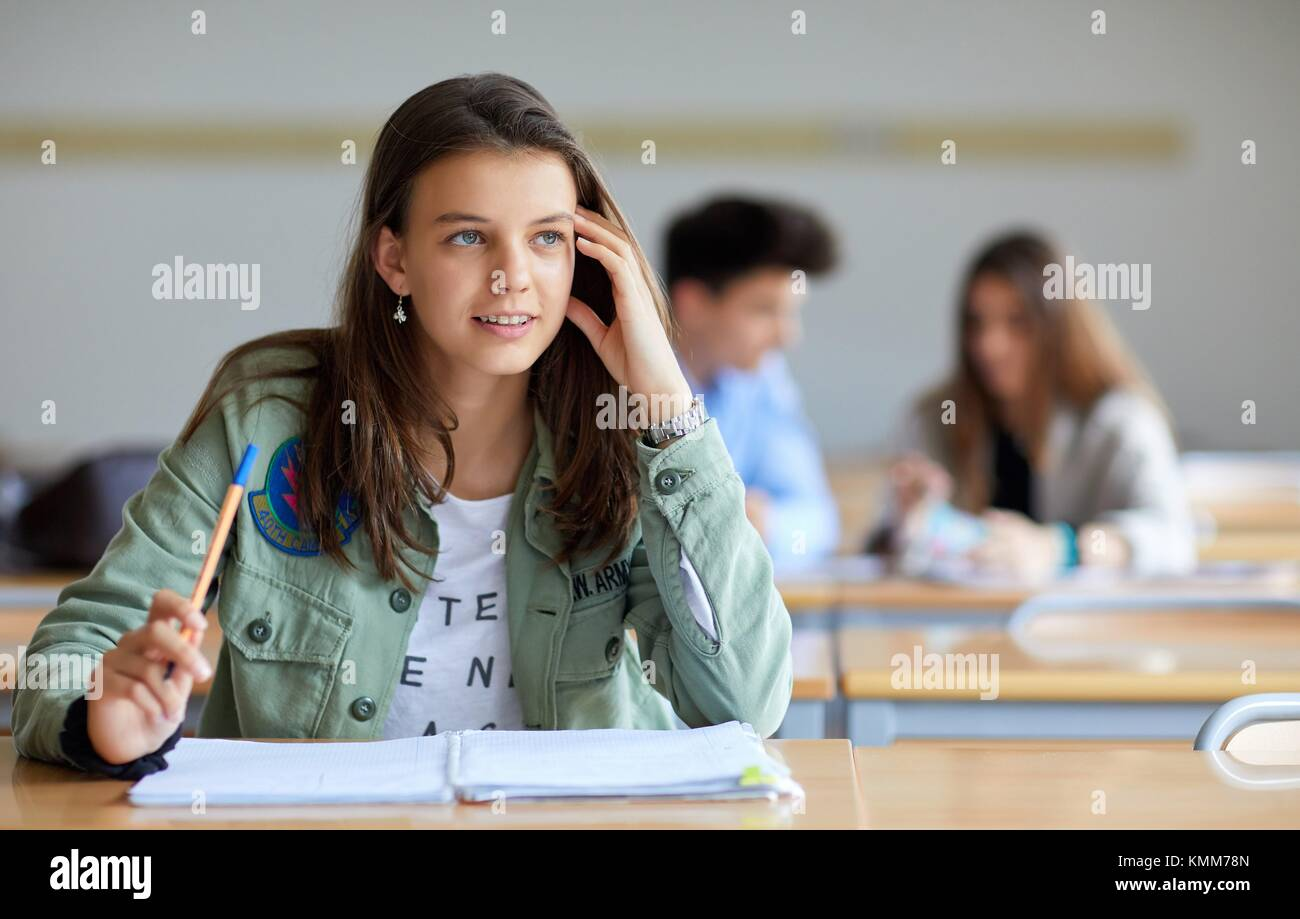 Daydreaming Classroom Stock Photos & Daydreaming Classroom ...