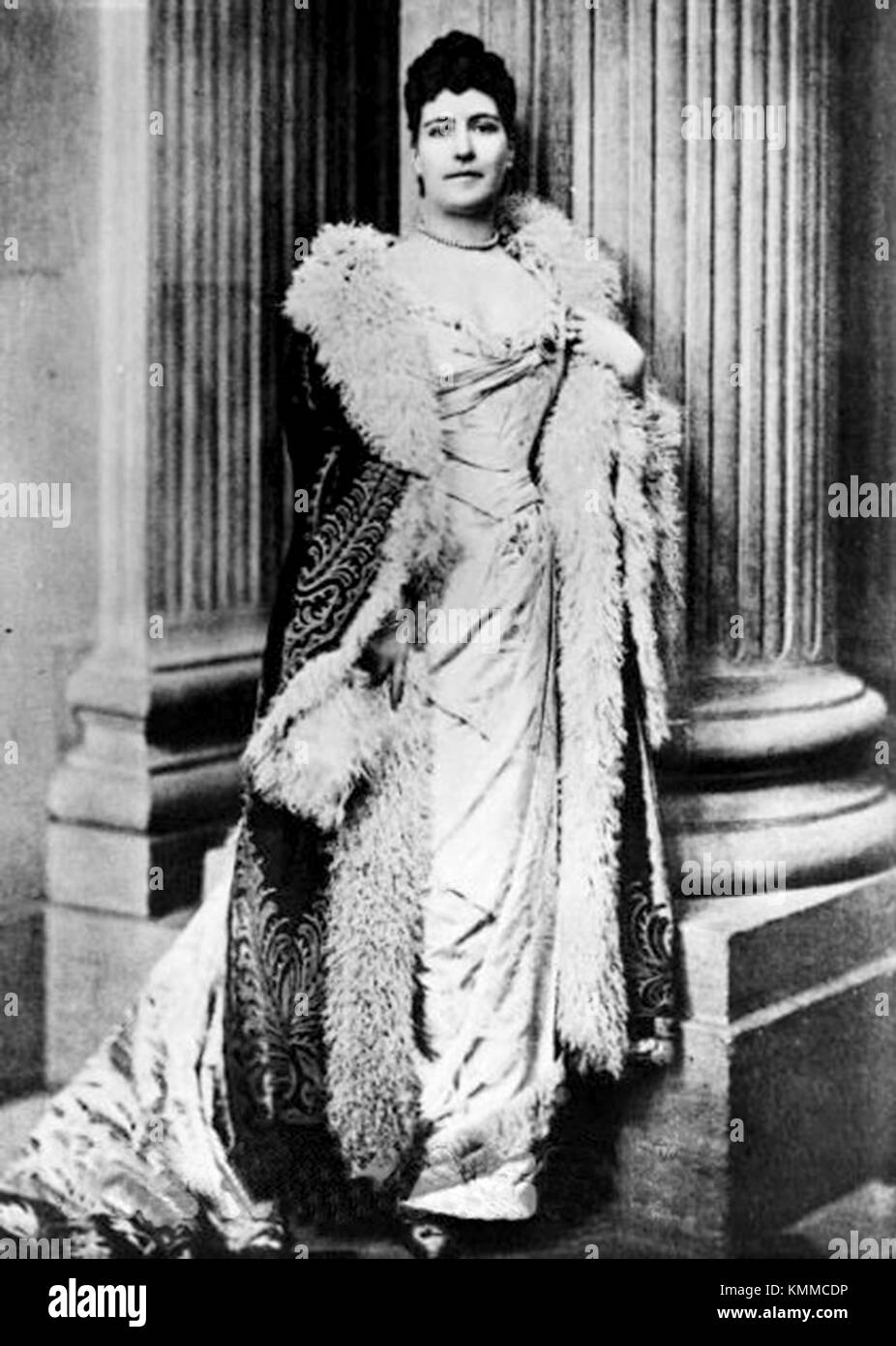 Lilian Warren Price, Lily Spencer-Churchill, Duchess of Marlborough, American heiress and socialite - Stock Image