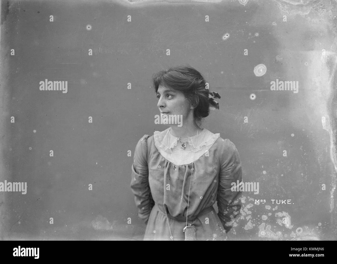 Mabel Tuke 1909 unattributed by Museum of London - Stock Image