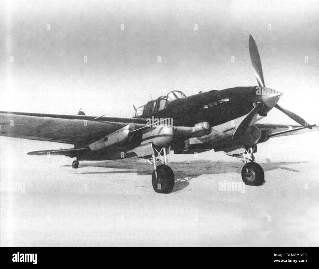 Il2 2 ns37 machine cannon moscow march 1943 Stock Photo