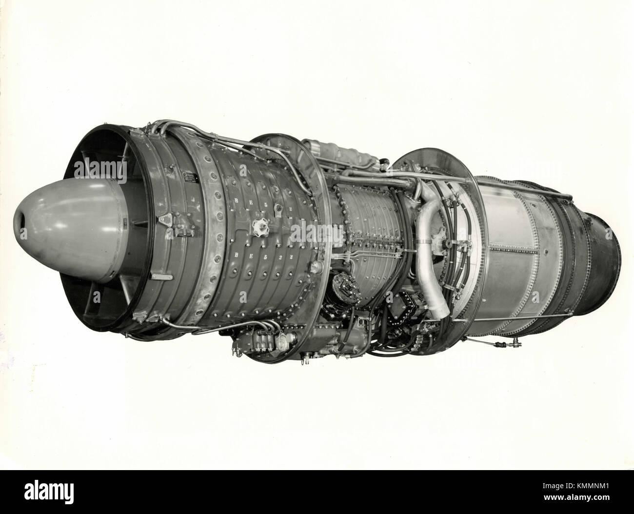 Turbojet Engine Stock Photos Images Alamy Jet Diagram Of An Axialflow Bristol Olympus 101 Axial Flow Aircraft Uk 1946