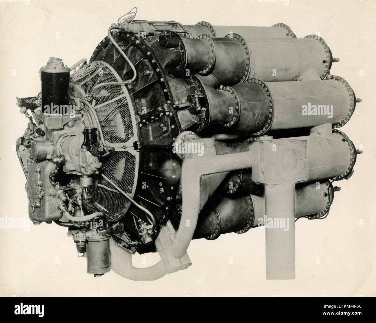 Rolls-Royce aviation engine Welland jet propulsion, UK 1945 - Stock Image