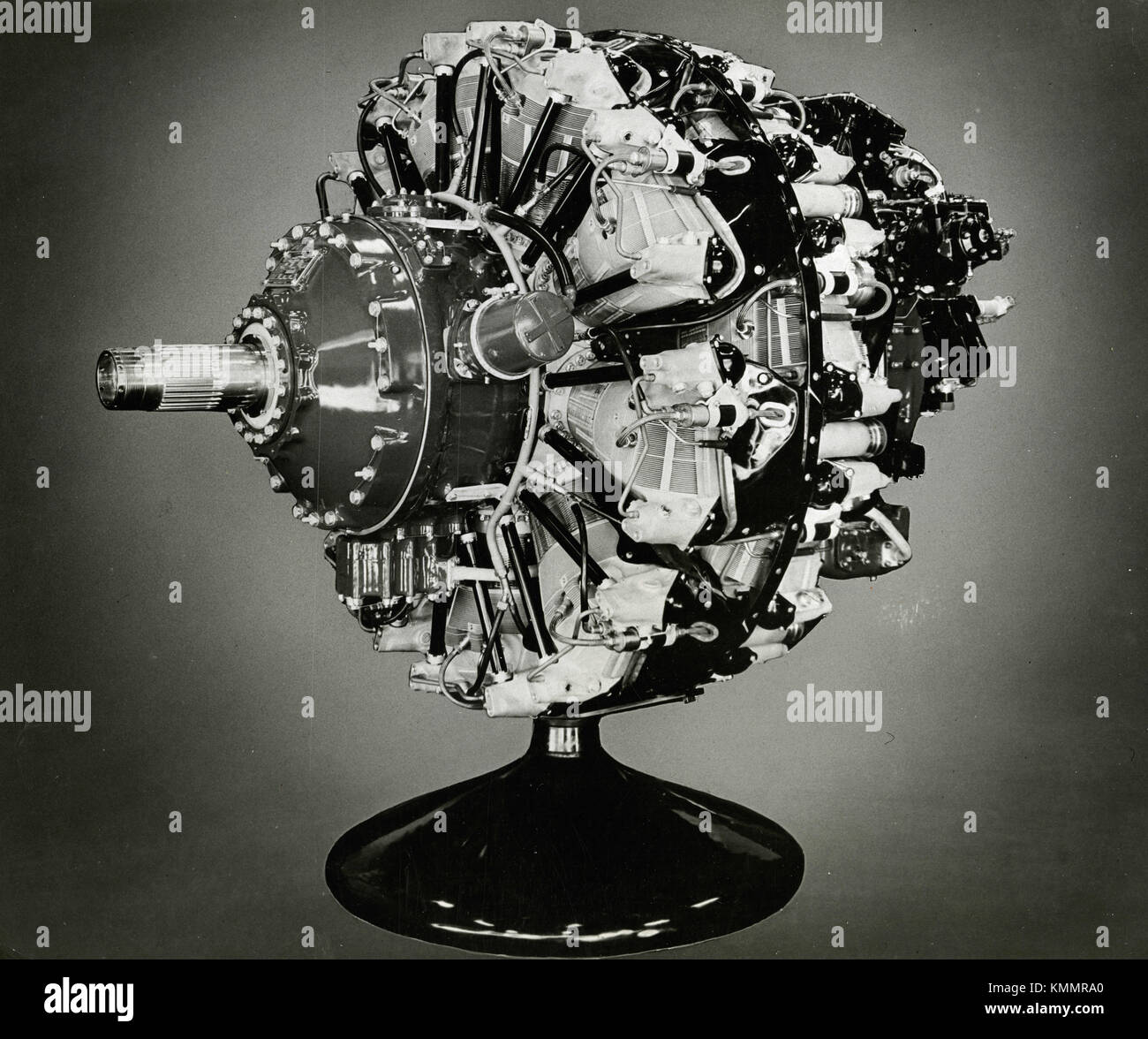 Rolls-Royce aviation engine NENE jet propulsion, UK 1946 - Stock Image