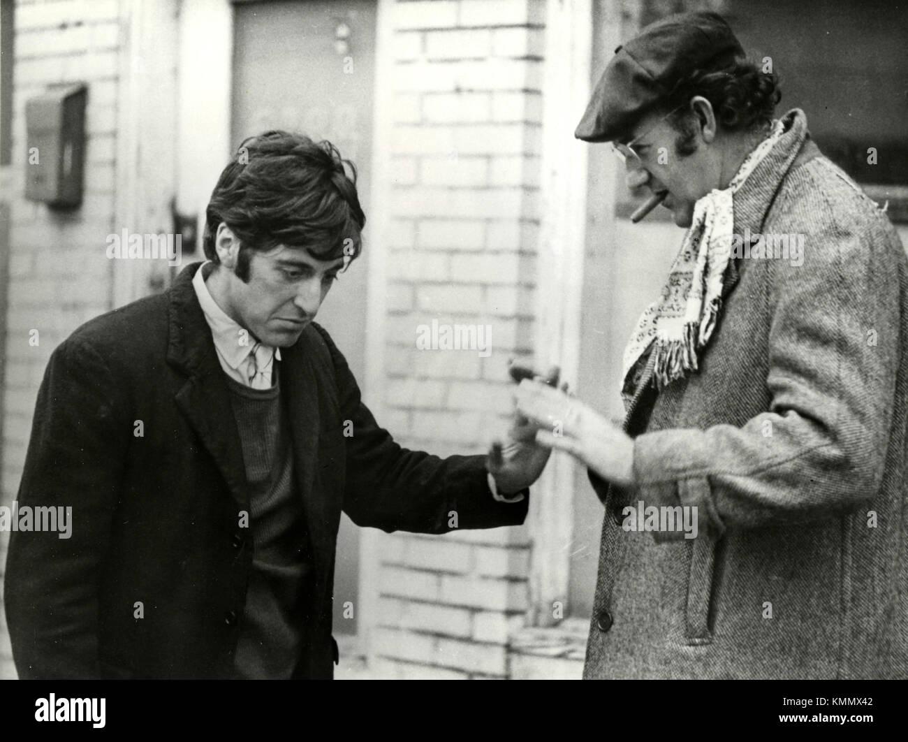 Actors Al Pacino and Gene Hackman in the movie Scarecrow, USA 1973 - Stock Image