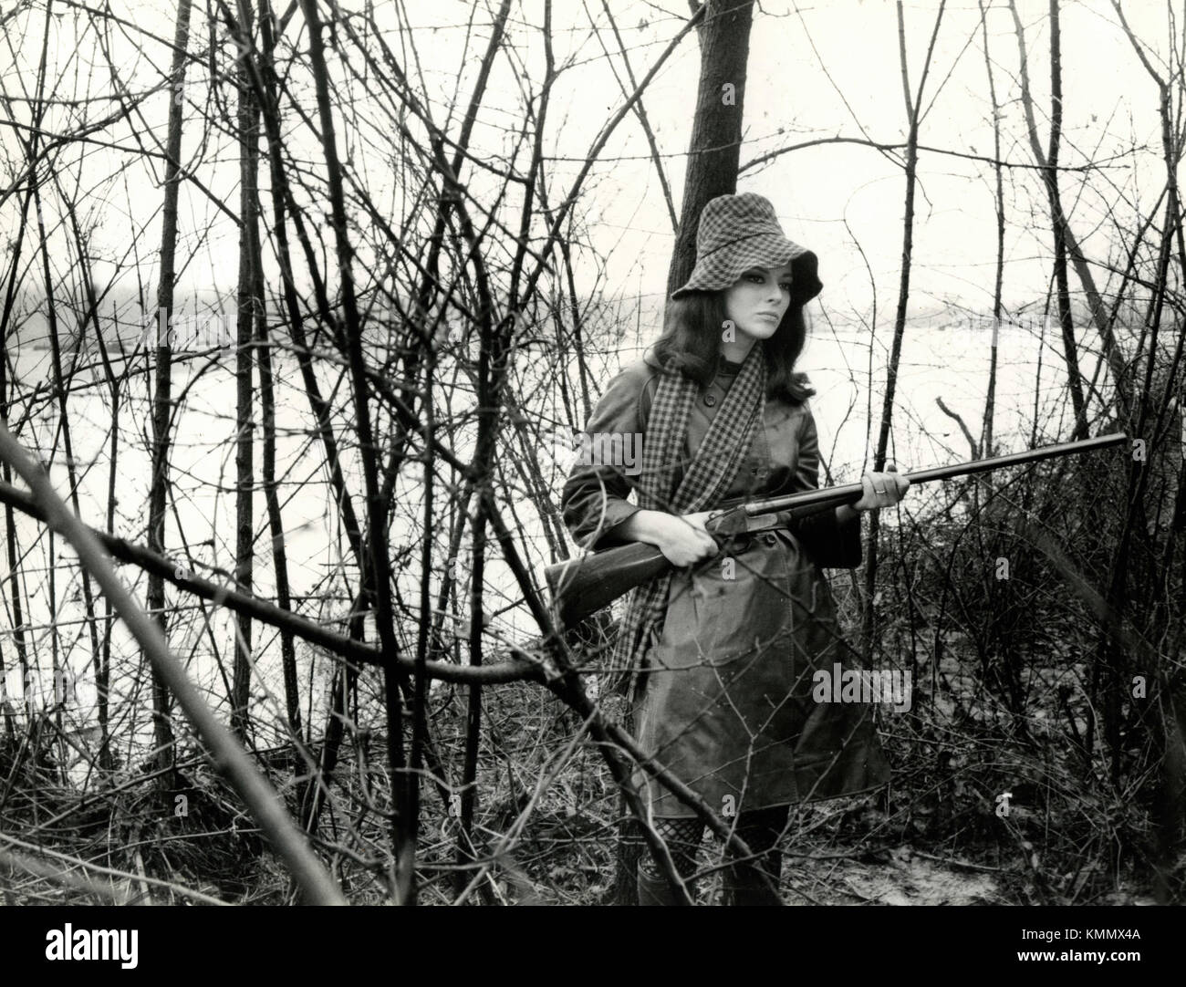 Actress Giovanna Ralli in the movie The Invisible Woman, Italy 1969 - Stock Image