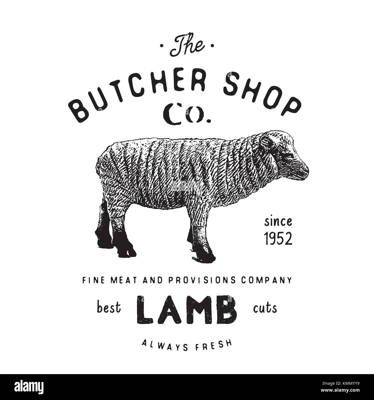 Lamb Shank Stock Vector Images - Alamy