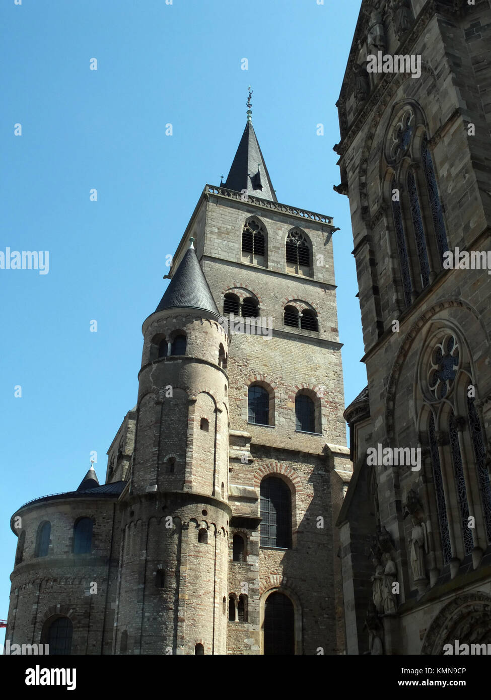 Trier, Germany. Old town center - Stock Image