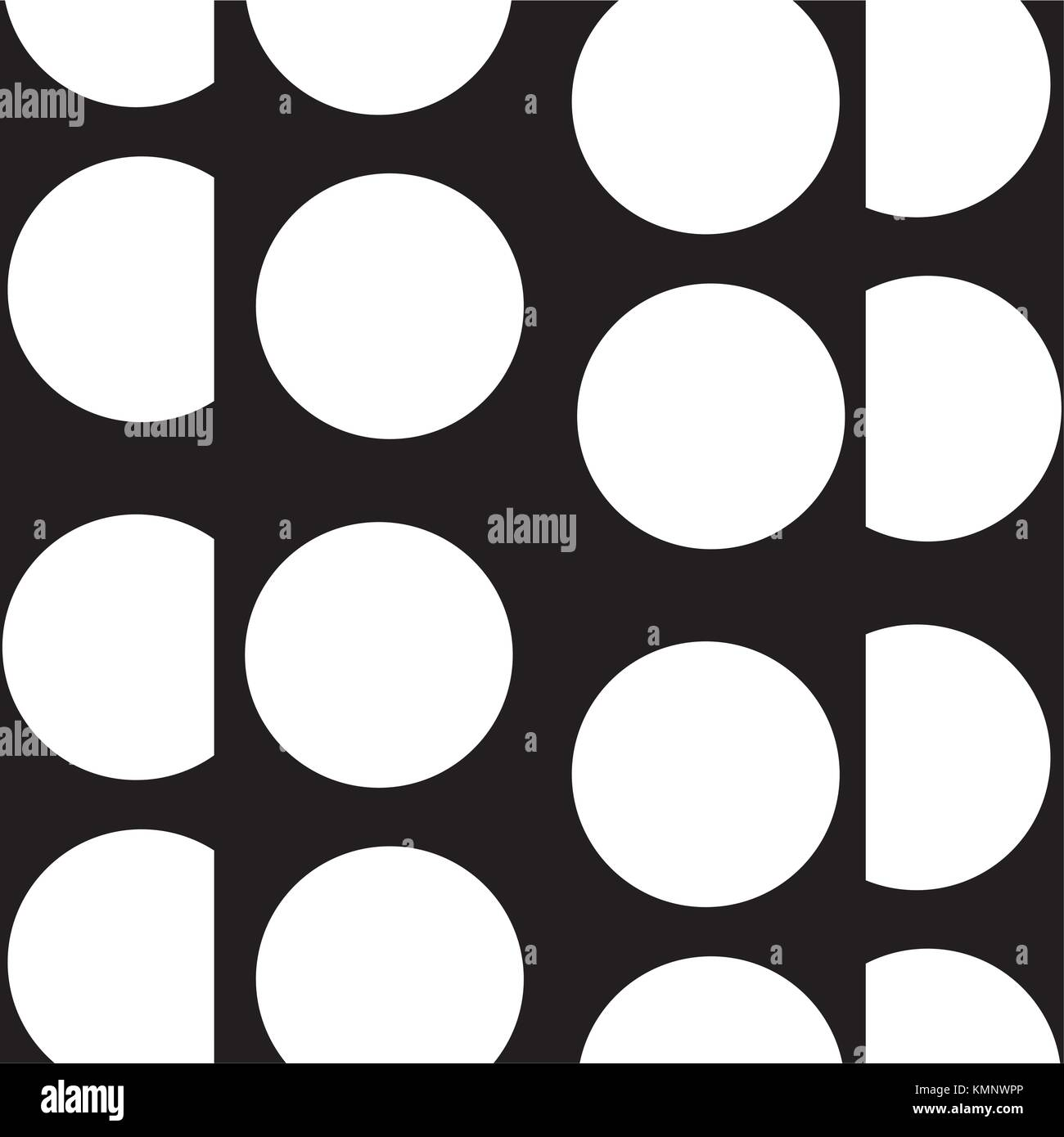 contour circle and triangle memphis style background - Stock Image