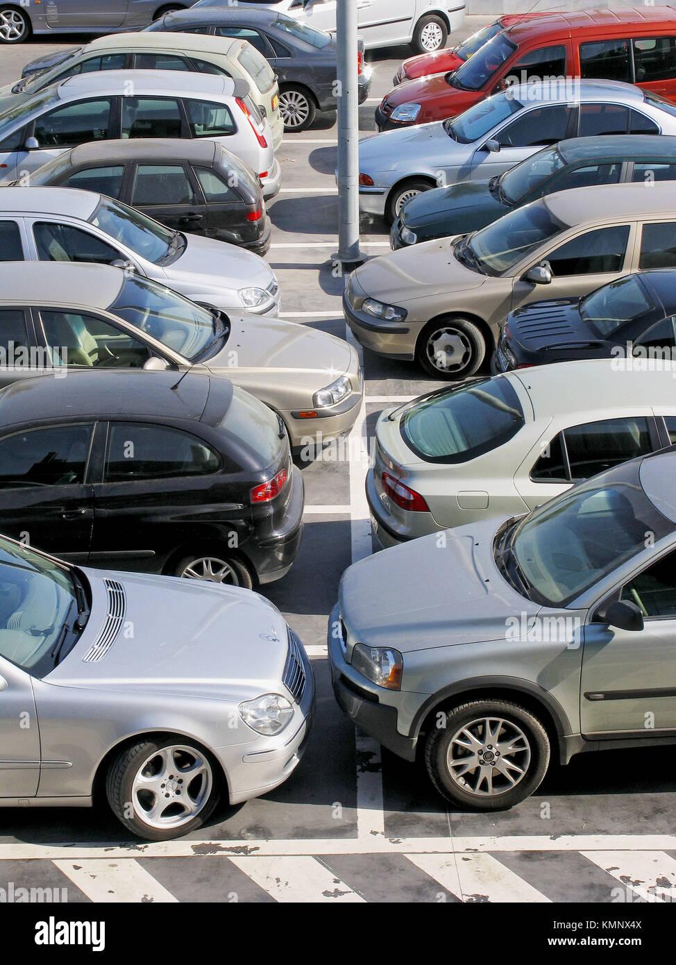 Car Park Shopping Centre In Stock Photos Car Park Shopping Centre