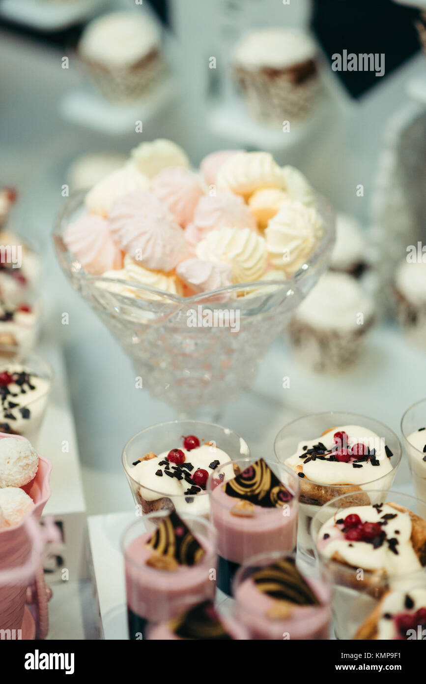 Wedding Candy Dessert Bar Marshmallows Stand Jelly Fruit Table Tasty ...