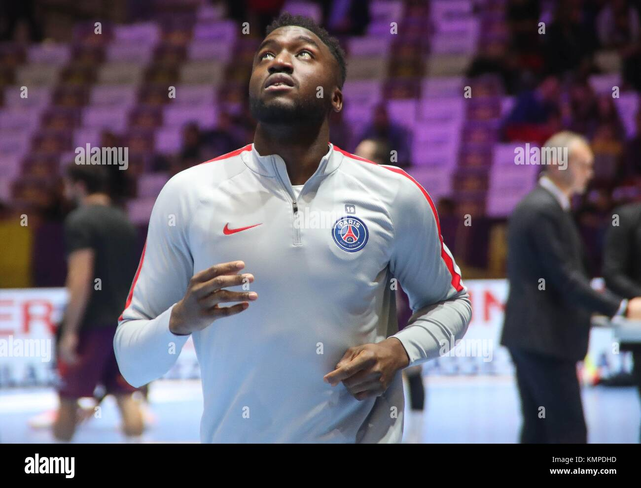 Nantes, France. 07th Dec, 2017. Luc Abalo (Paris Saint Germain) during the French Championship Lidl StarLigue Handball Stock Photo