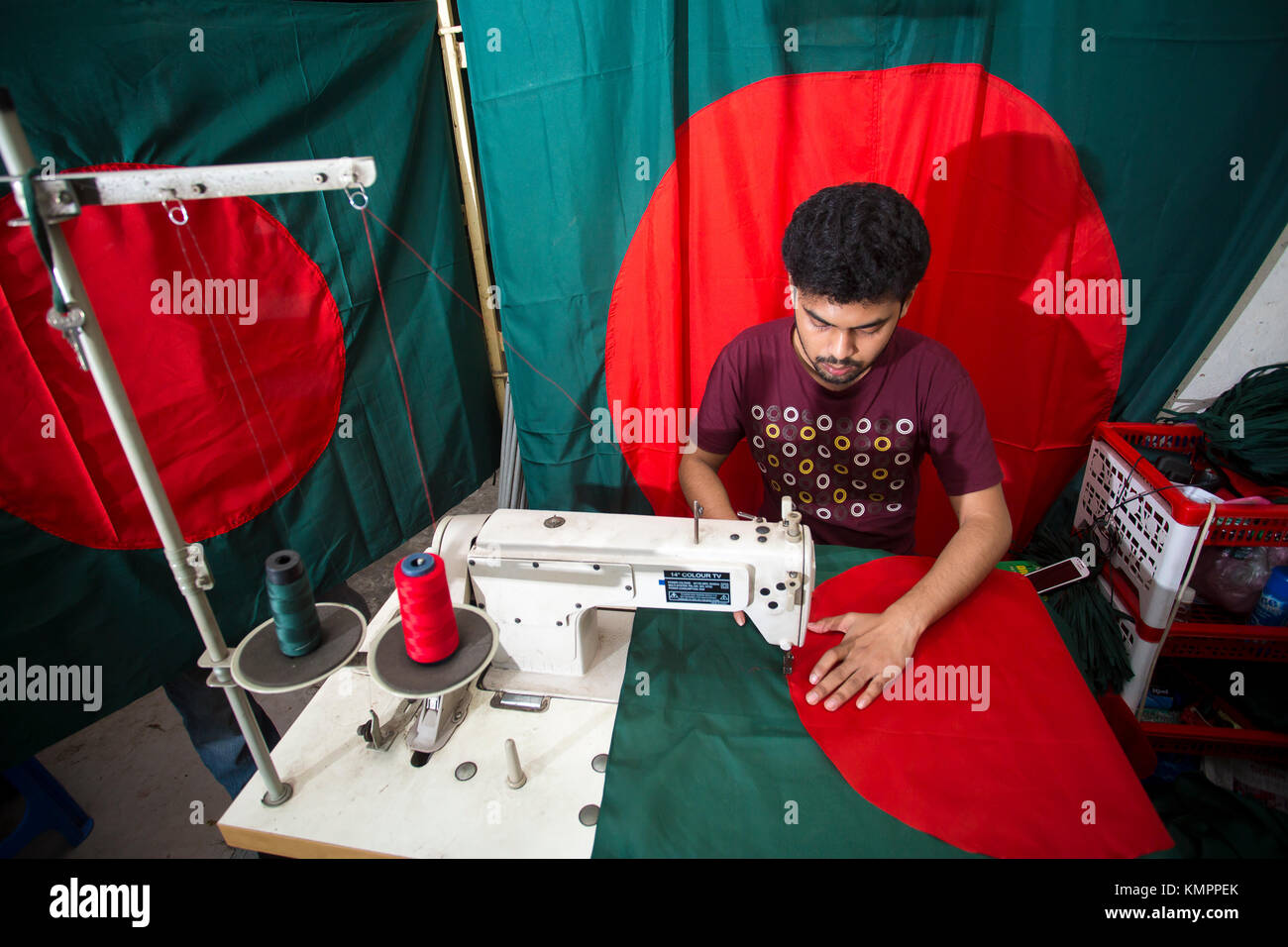 Dhaka, Bangladesh. 09th Dec, 2017. Victory day is a national holiday in Bangladesh celebrated on December 16 to - Stock Image