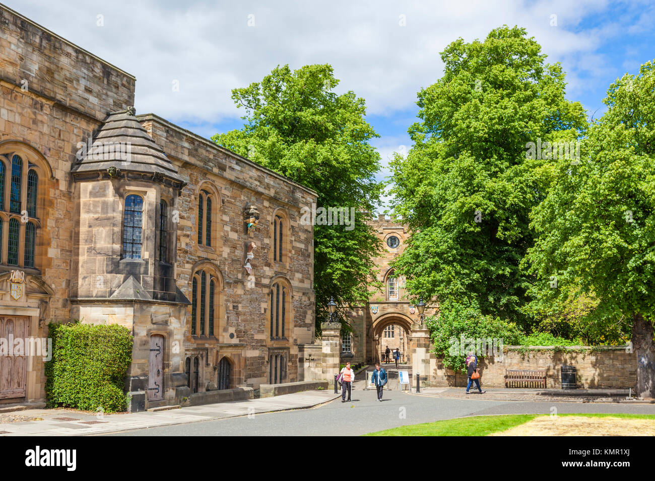 Durham Castle england durham england durham university college within the norman castle durham county durham uk - Stock Image