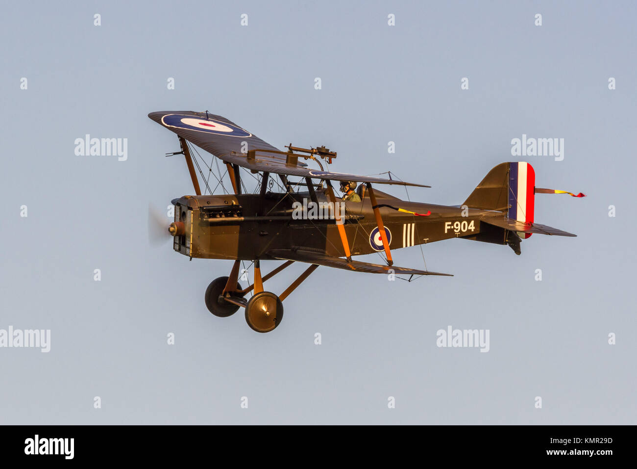 The Shuttleworth Collection Evening Flying July 2013 - Stock Image