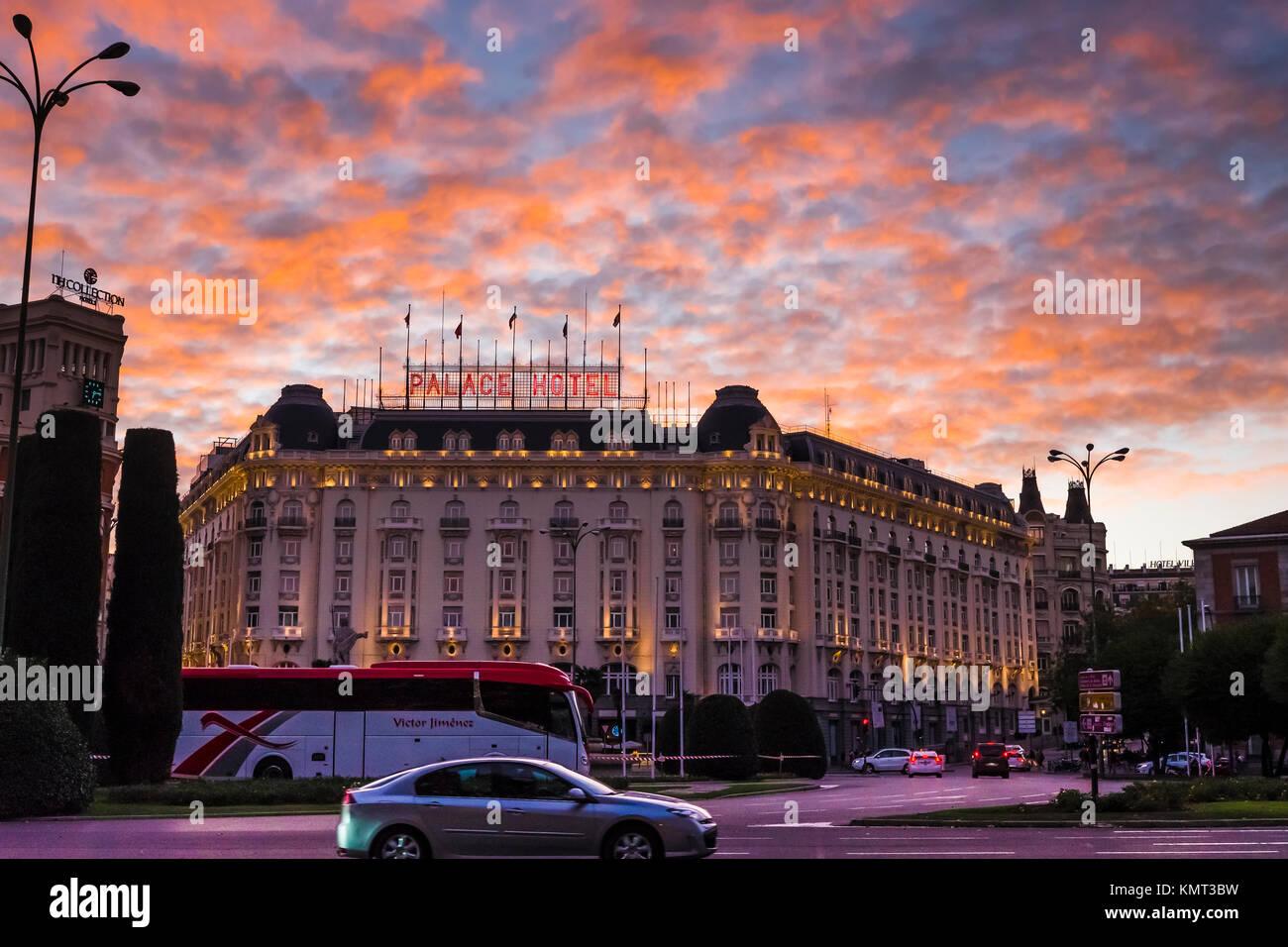 Hotel Palace Madrid Stock Photos Hotel Palace Madrid