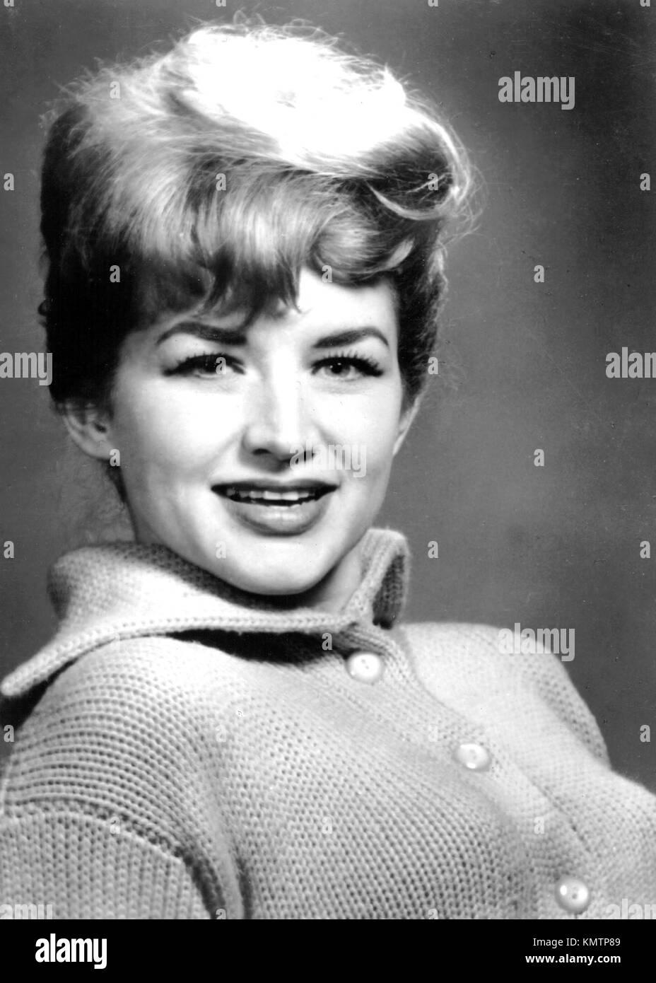 DEBBIE DEAN (1928-2001) American singer about 1962 - Stock Image