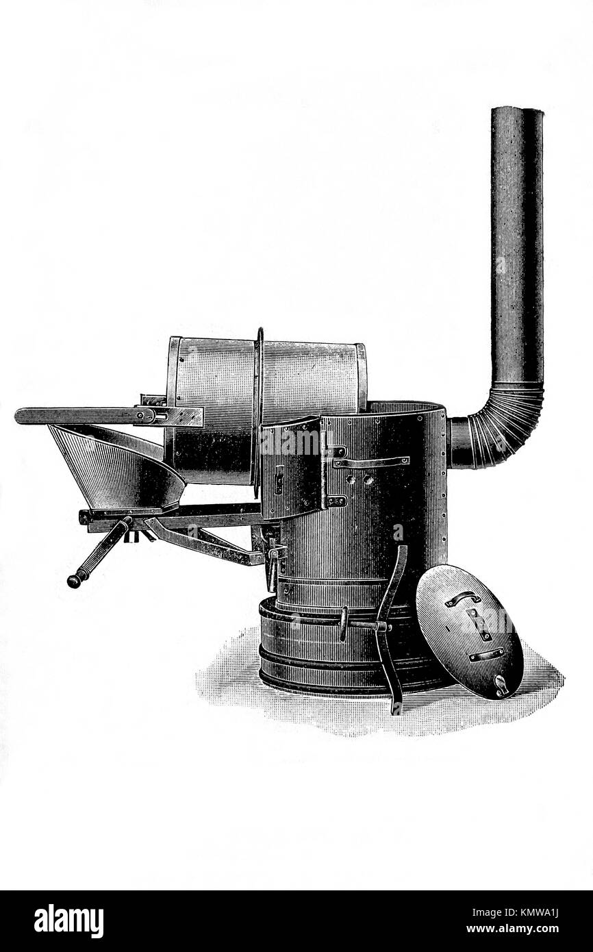 Vintage Boiler Black and White Stock Photos & Images