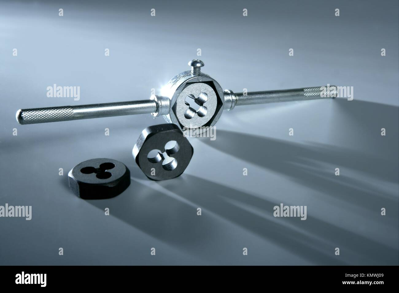 Close Up Tool Die Maker Stock Photos & Close Up Tool Die