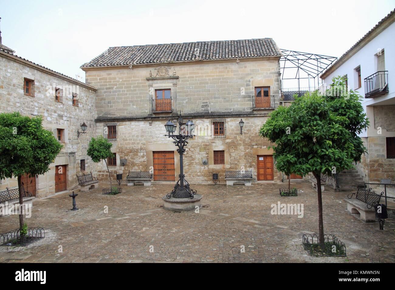 Street  Úbeda  Jaén province  Spain - Stock Image