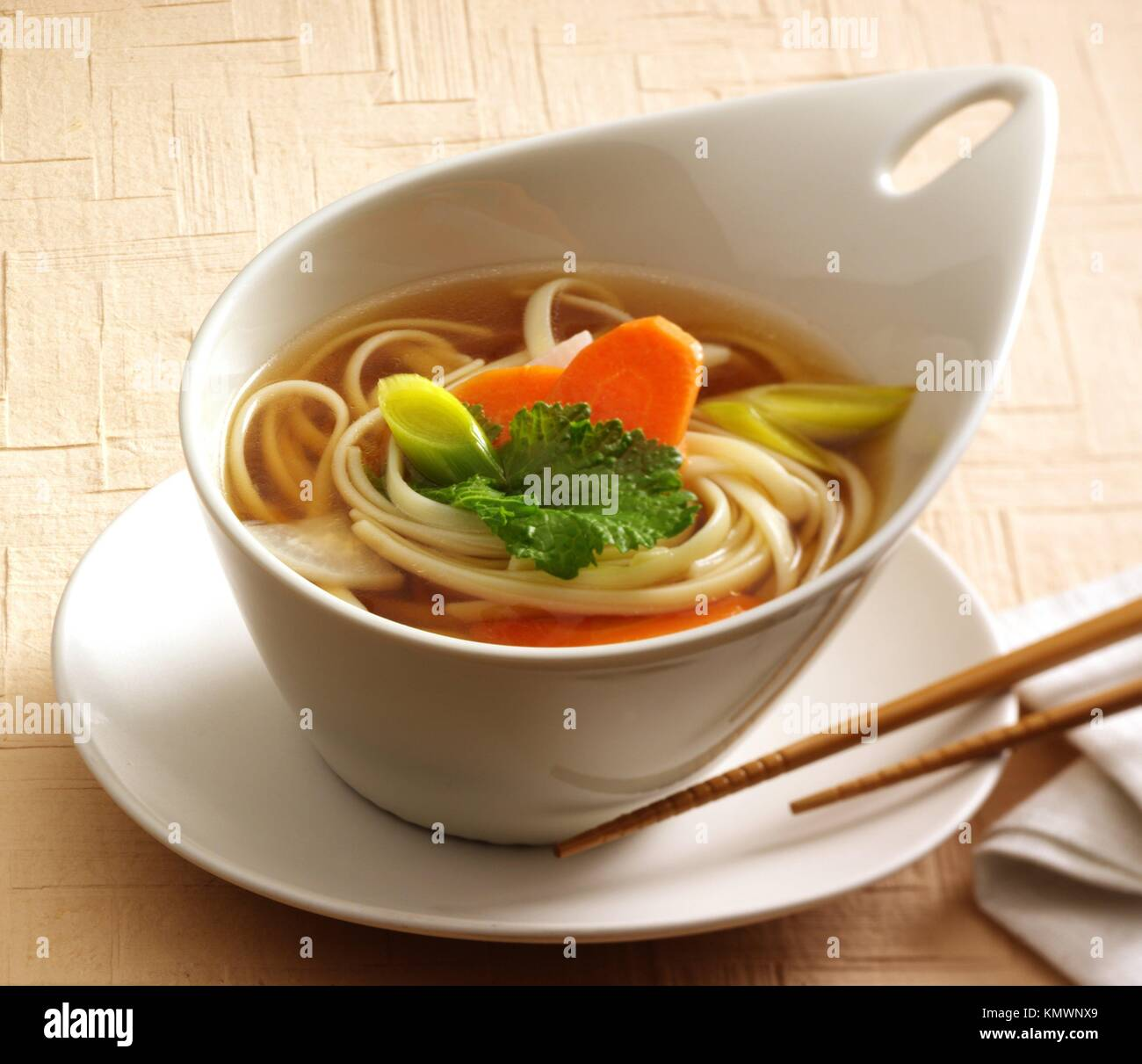 Wor mein  Chinese gastronomy - Stock Image