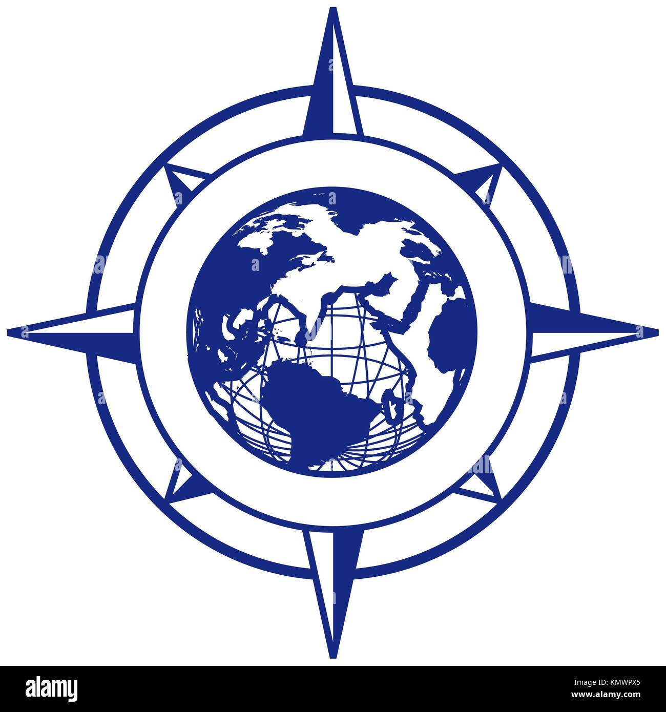 Vignette Earth Stock Photos Images Alamy Mechanical Electrical Plan Vectorial With Wind Rose And Executed In Blue Color No Gradients