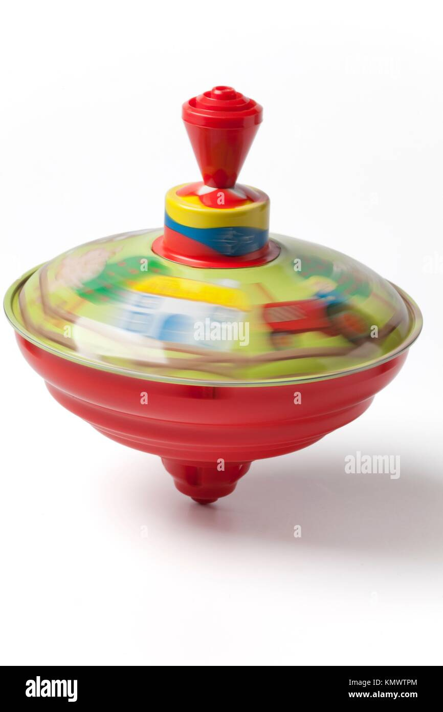 Humming or spinning top - Stock Image