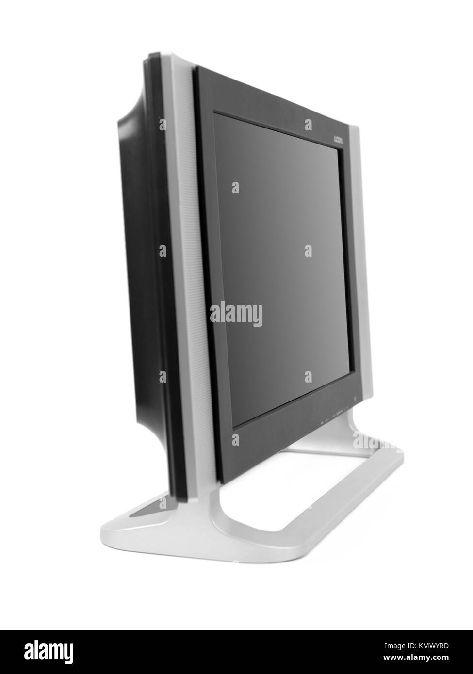 Liquid Crystal Display Black And White Stock Photos Images Alamy Lcd A Tv Monitor Isolated Against Background Image