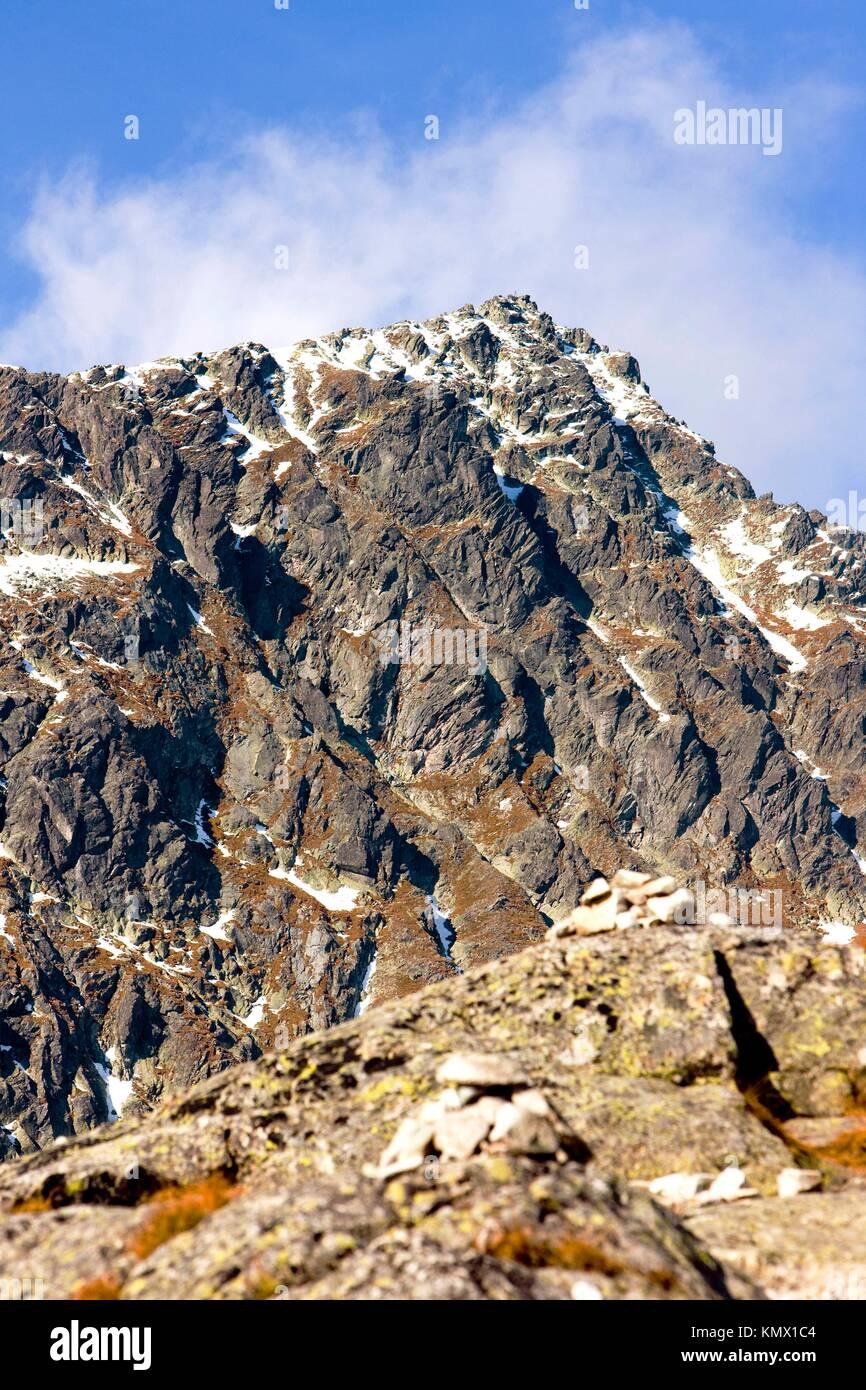 Vysoke Tatry High Tatras, Slovakia - Stock Image