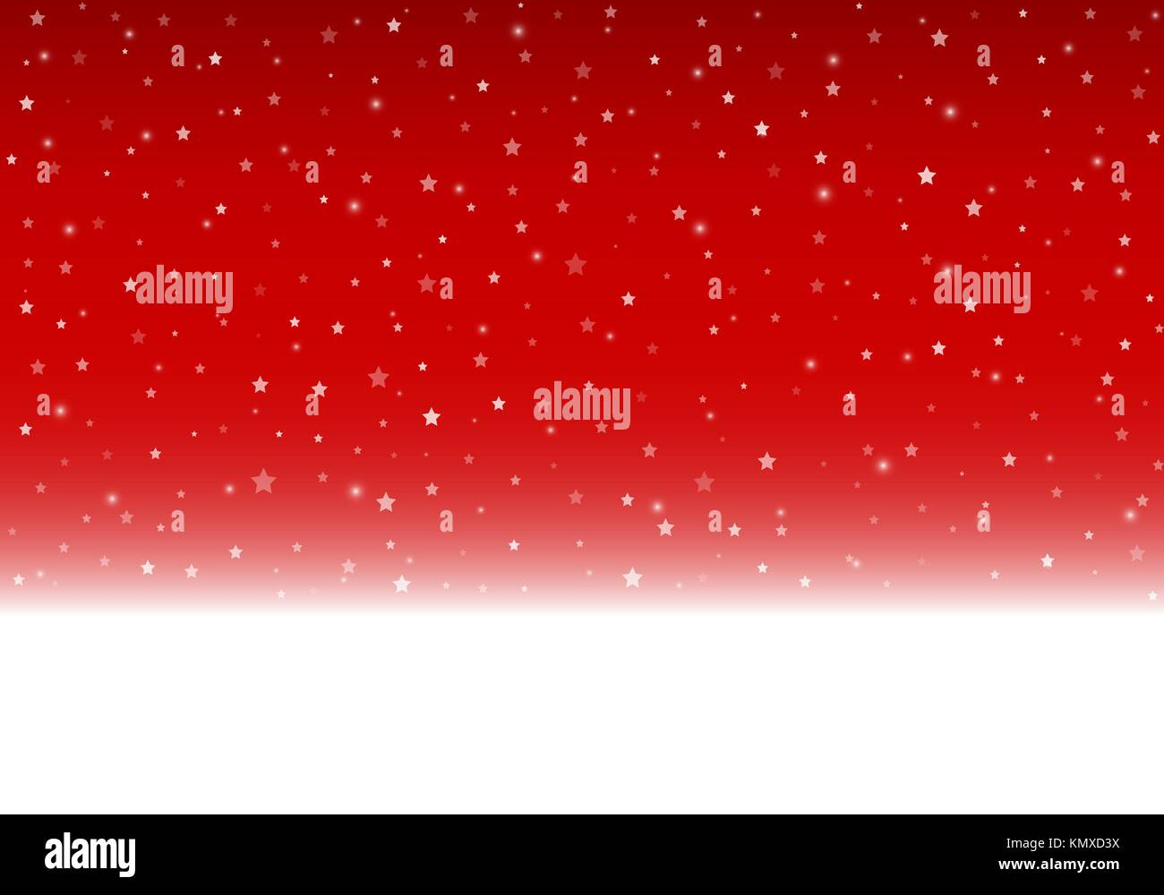 Vector red winter background with copy space. - Stock Vector