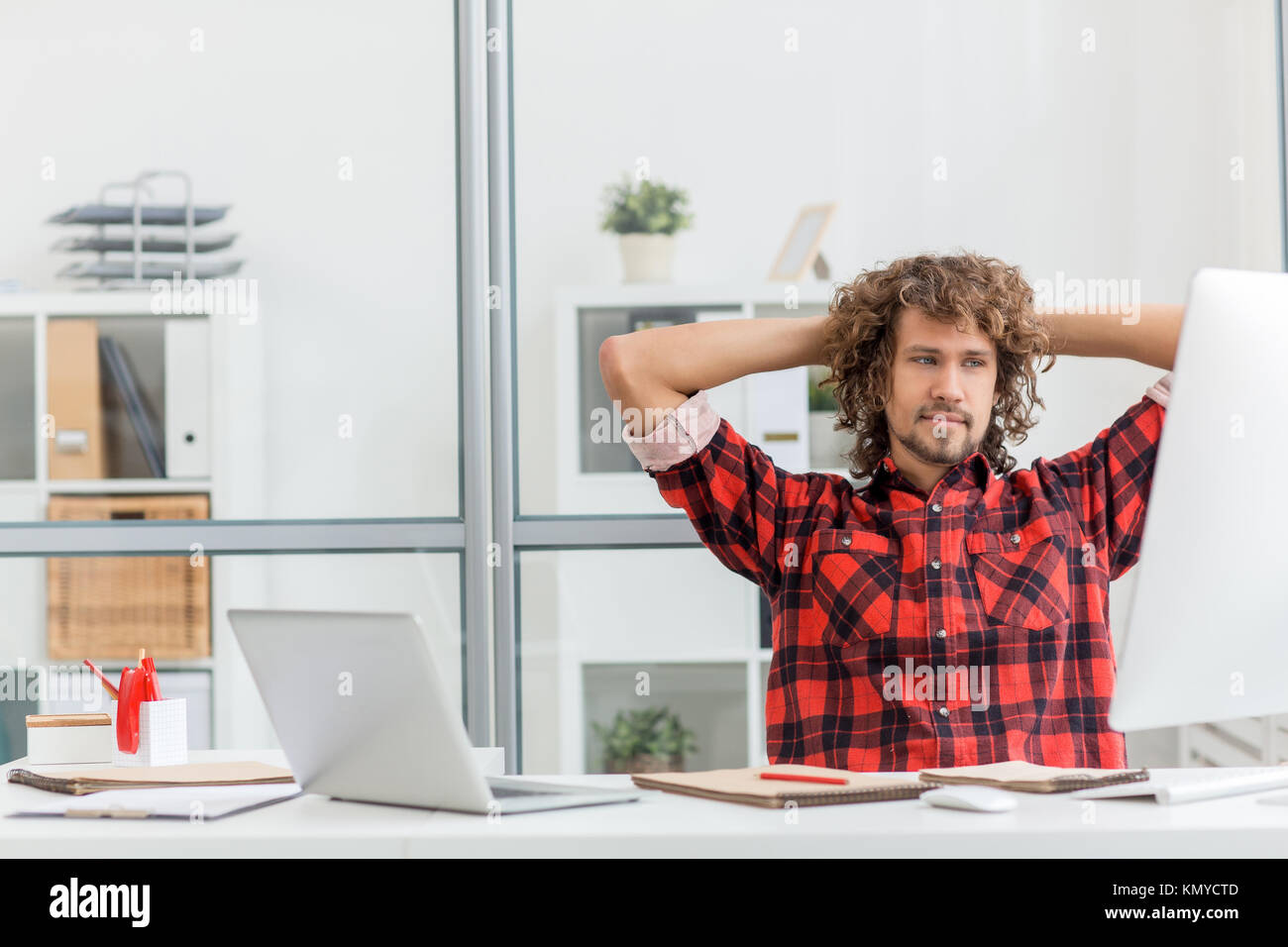 Minute of rest - Stock Image