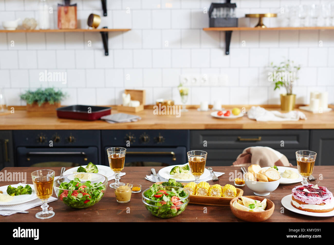 Food for festivity - Stock Image