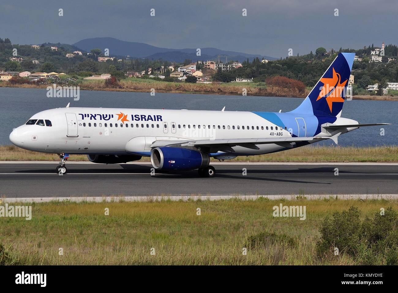 ISRAIR AIRBUS A320-200 4X-ABG - Stock Image