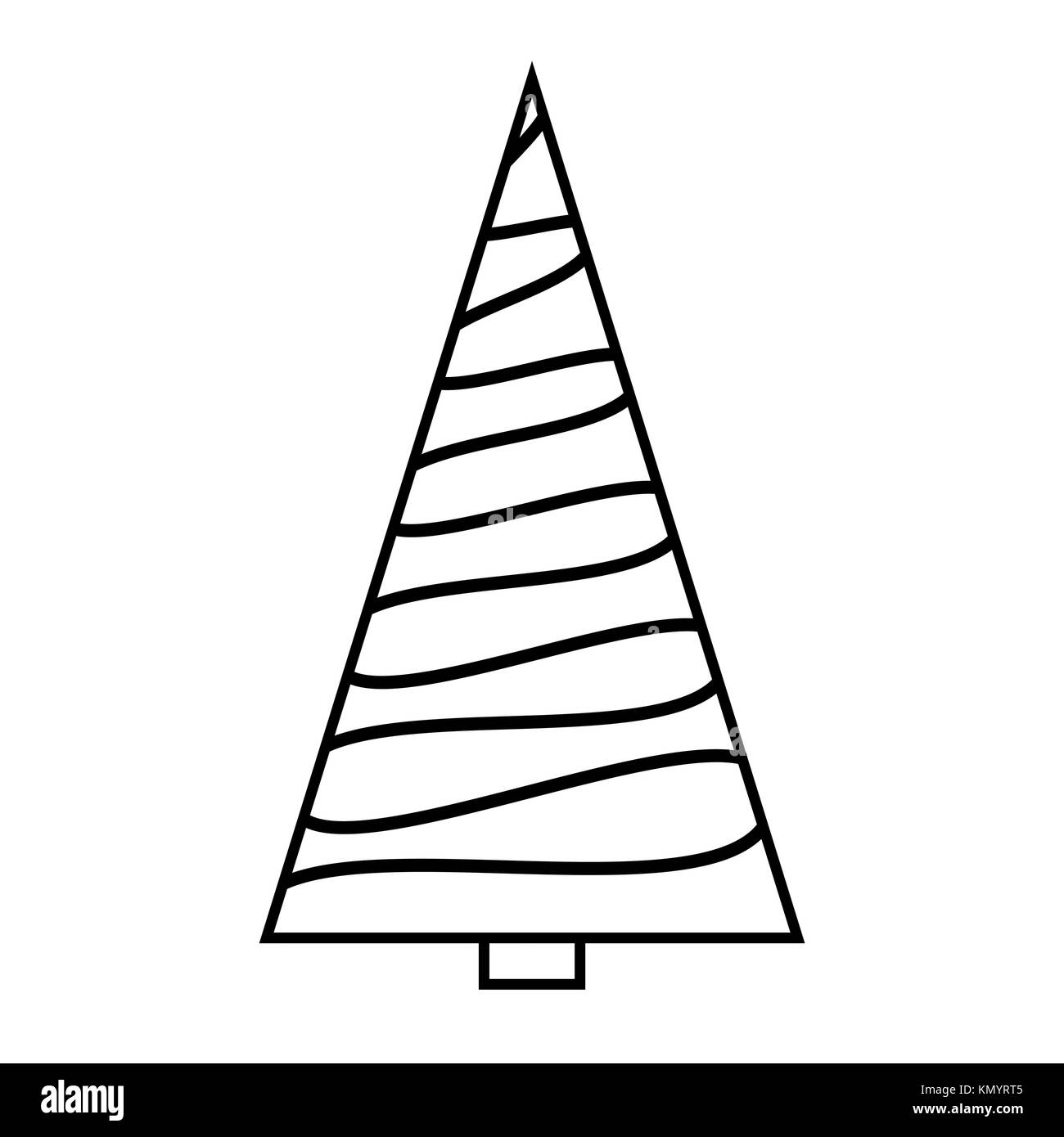 Christmas Tree Clipart Outline.Tree Clipart Outline Stock Photos Tree Clipart Outline