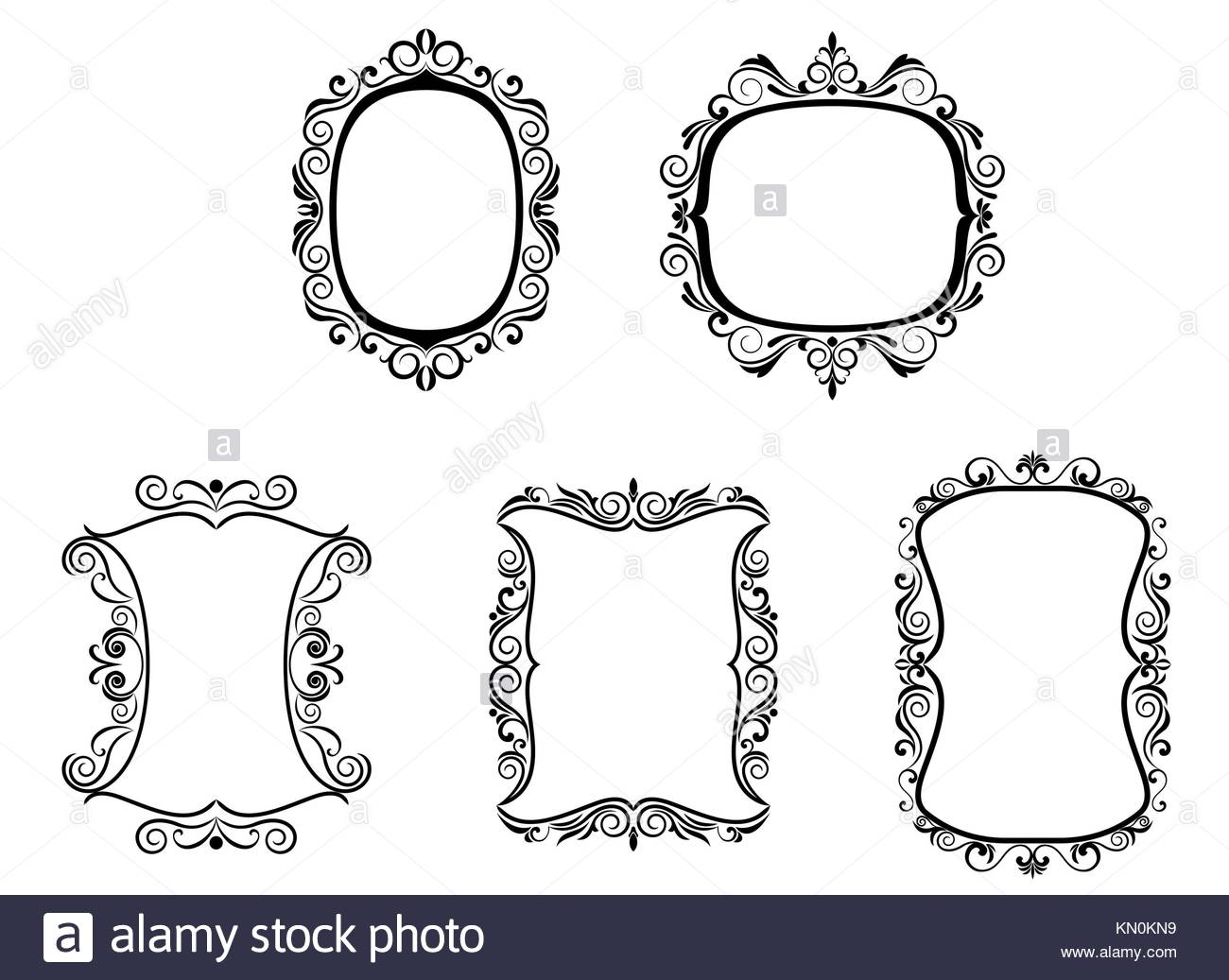 Victorian Gothic Wallpaper Cut Out Stock Images & Pictures - Alamy