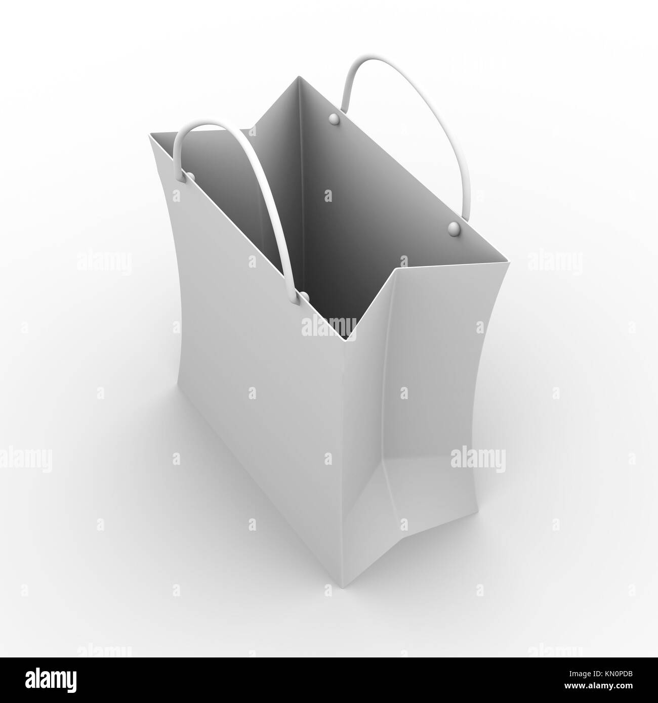 3D rendered Illustration  Isolated on white Stock Photo