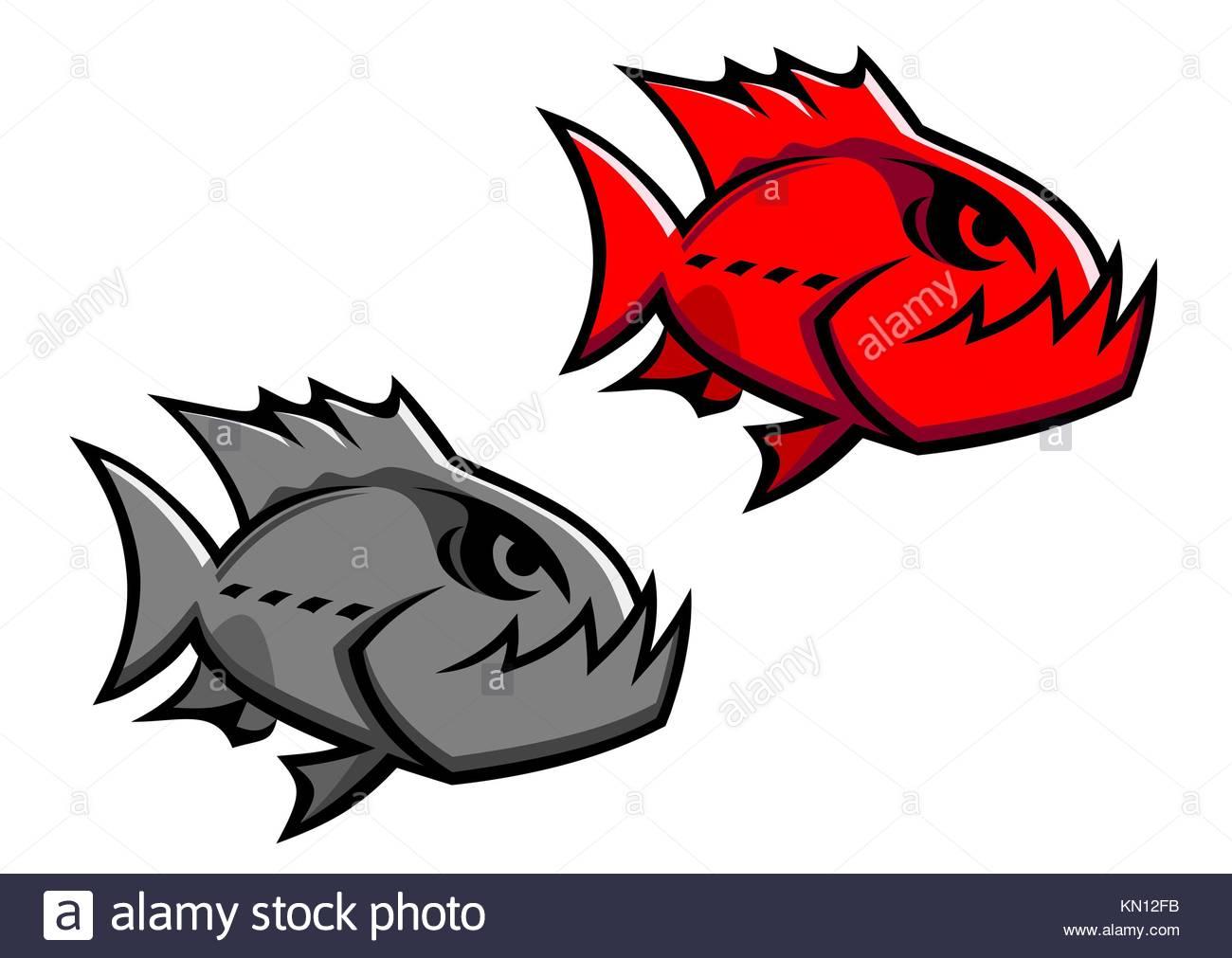 Cartoon Piranha Stock Photos & Cartoon Piranha Stock Images - Alamy