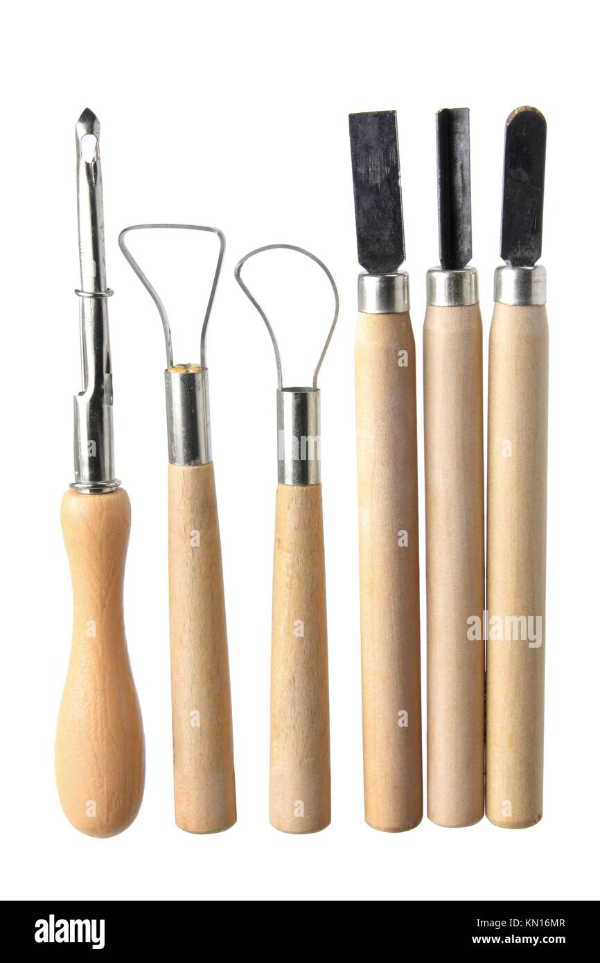 Art And Craft Tools On White Background Stock Photo 167828327 Alamy
