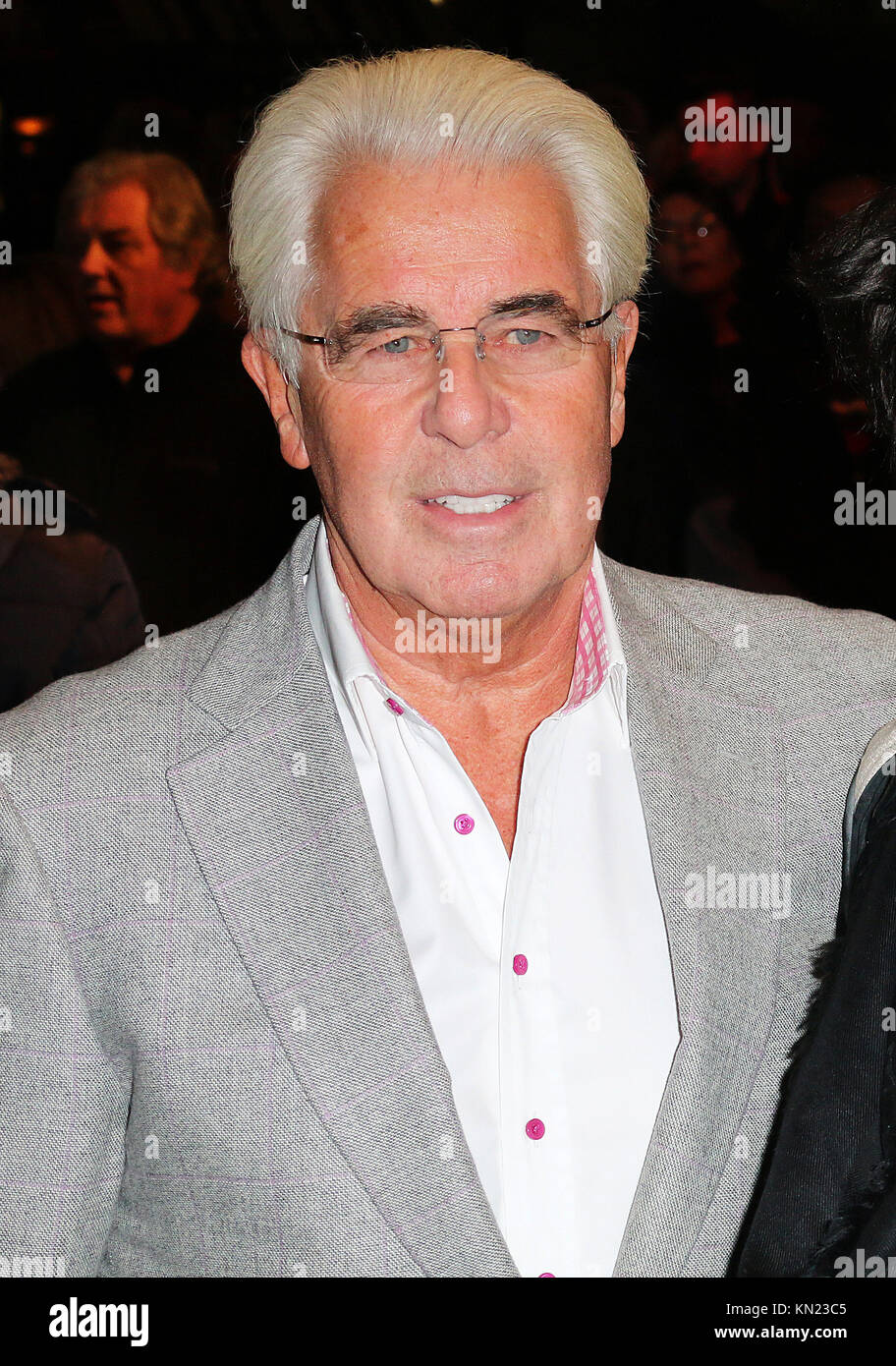 Max Clifford - Disgraced celebrity publicist  has died in hospital, aged 74, after collapsing in prison, 10 December - Stock Image