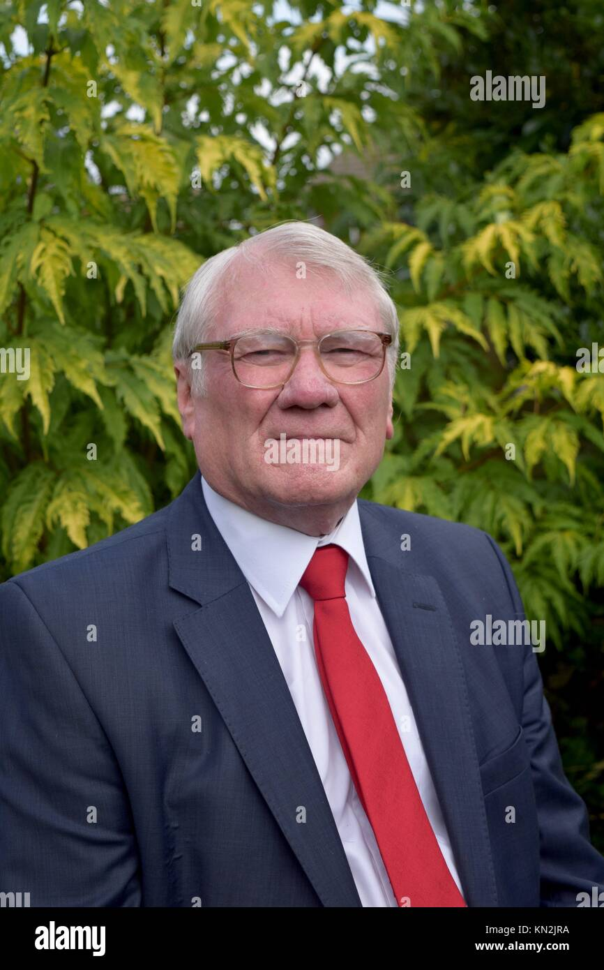 Ken Capstick, Former Vice-President NUM Yorkshire - Stock Image
