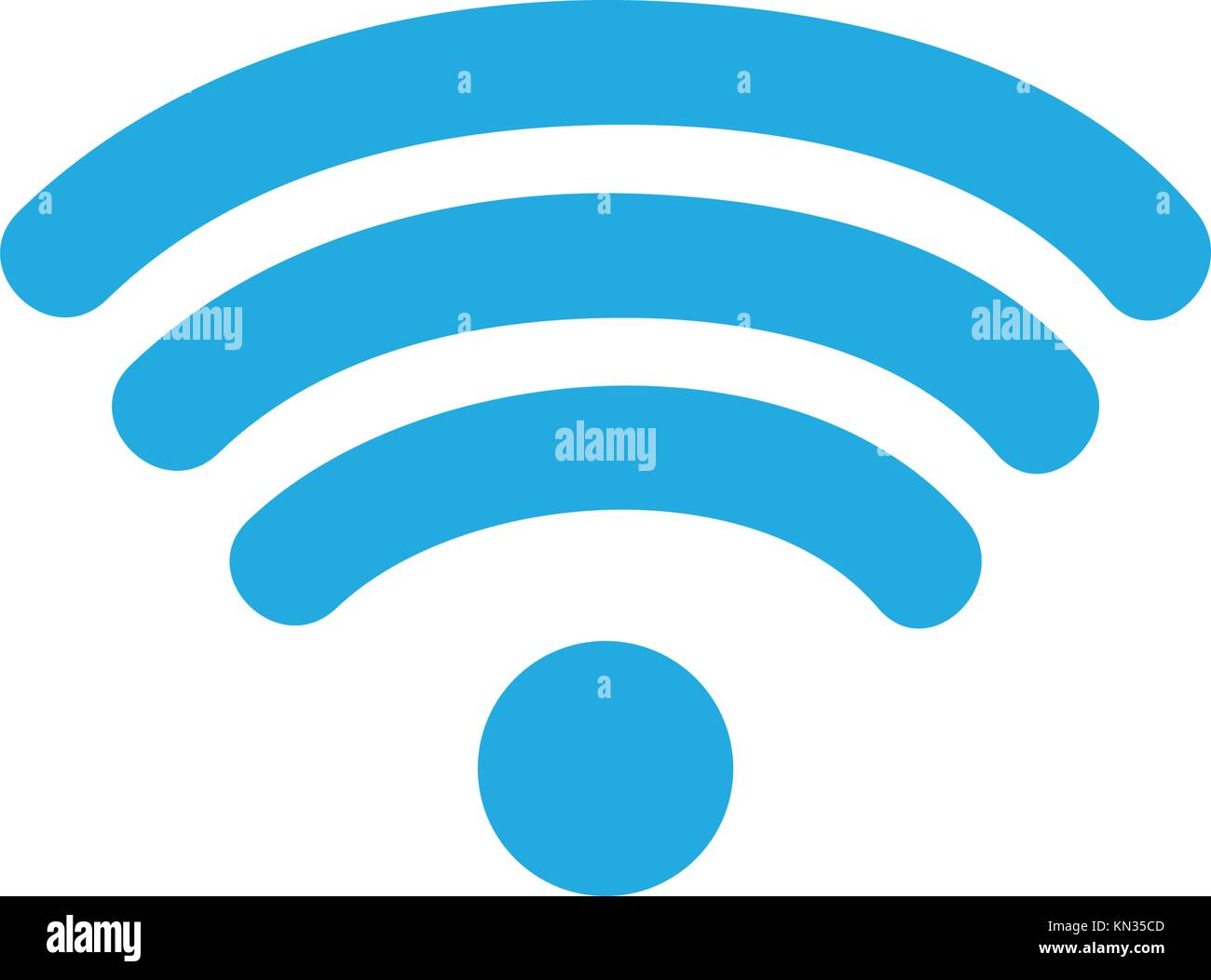 Wifi Symbol Stock Vector Images Alamy