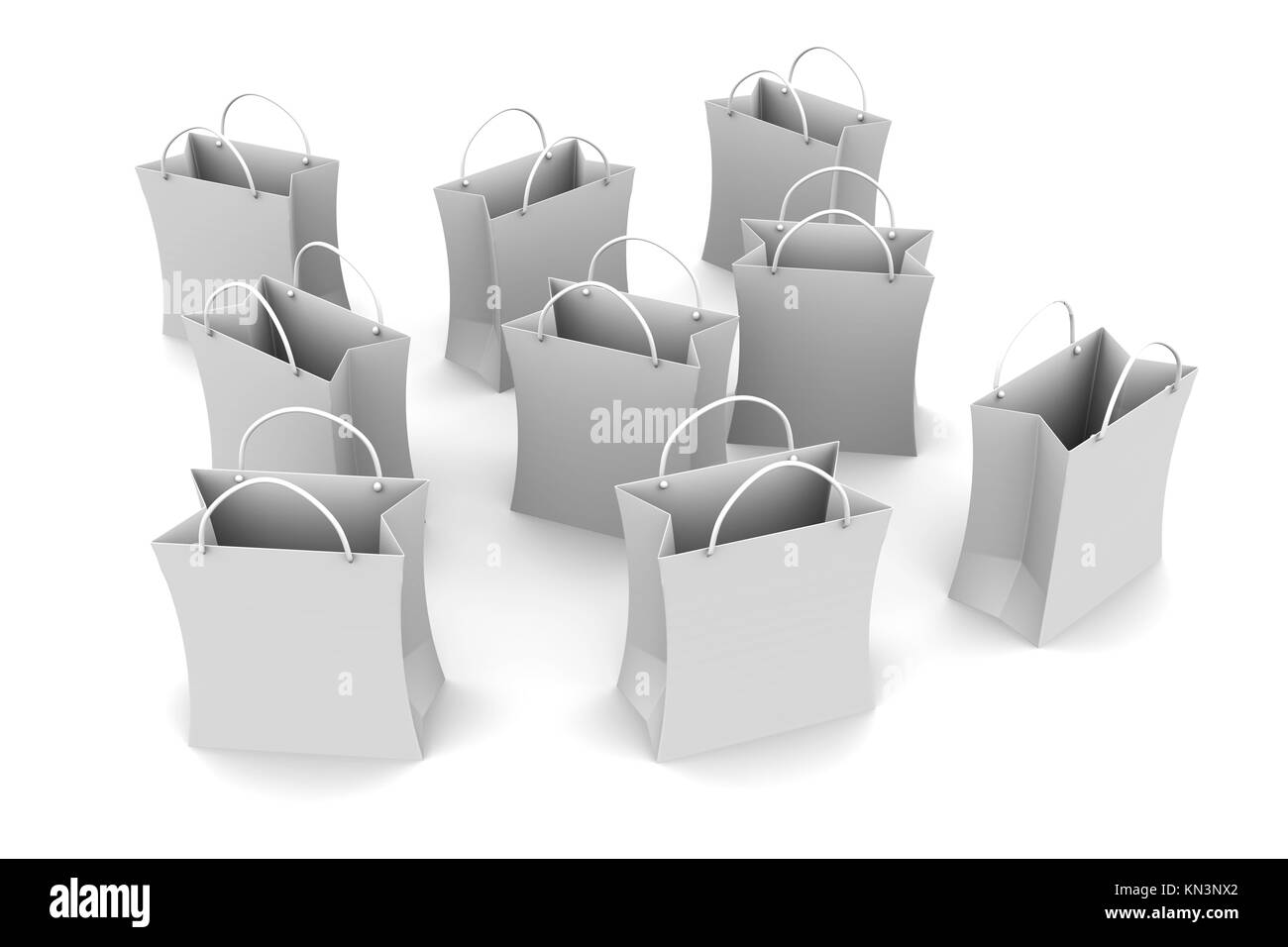 3D rendered Illustration. Isolated on white. Stock Photo