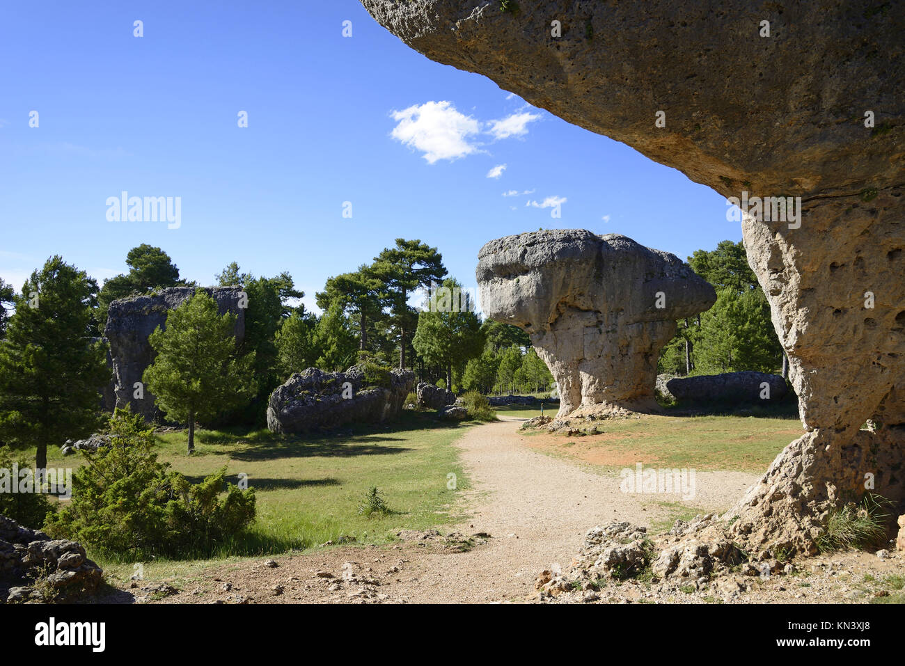 Enchanted city of Cuenca, Caastilla La Mancha, Spain. - Stock Image