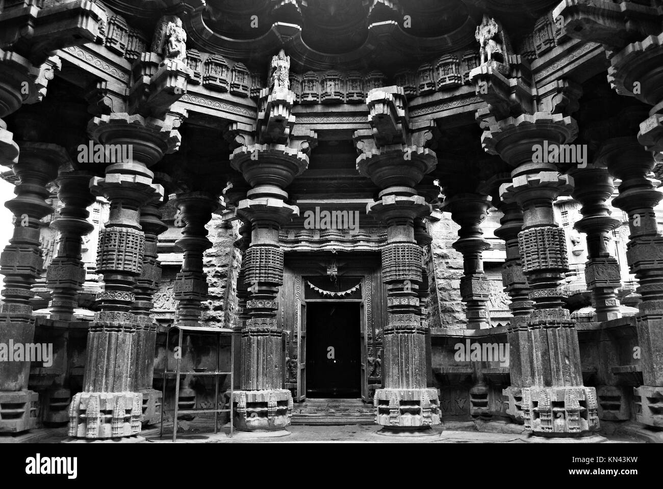 KHIDRAPUR -The Kopeshwar shiva Temple - located in Kolhapur district, it is known for one of most outstanding and - Stock Image