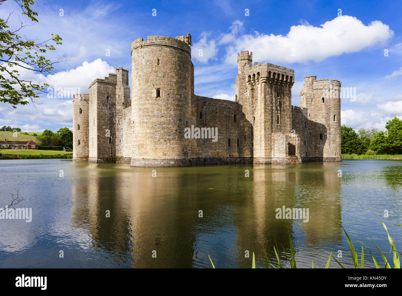 moated houses in sussex