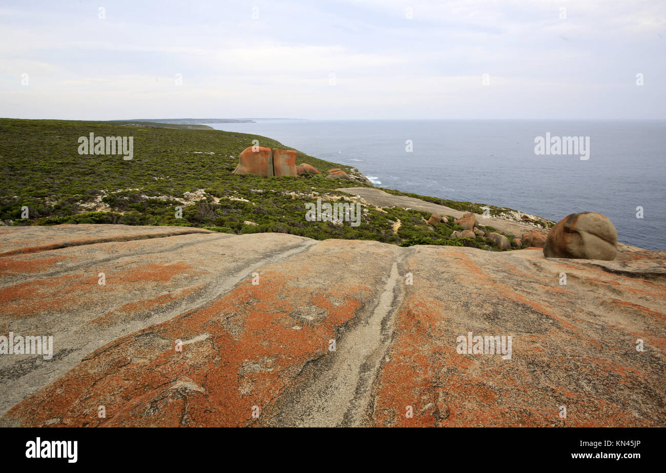 Remarkable Rocks, Kangaroo Island. - Stock Image