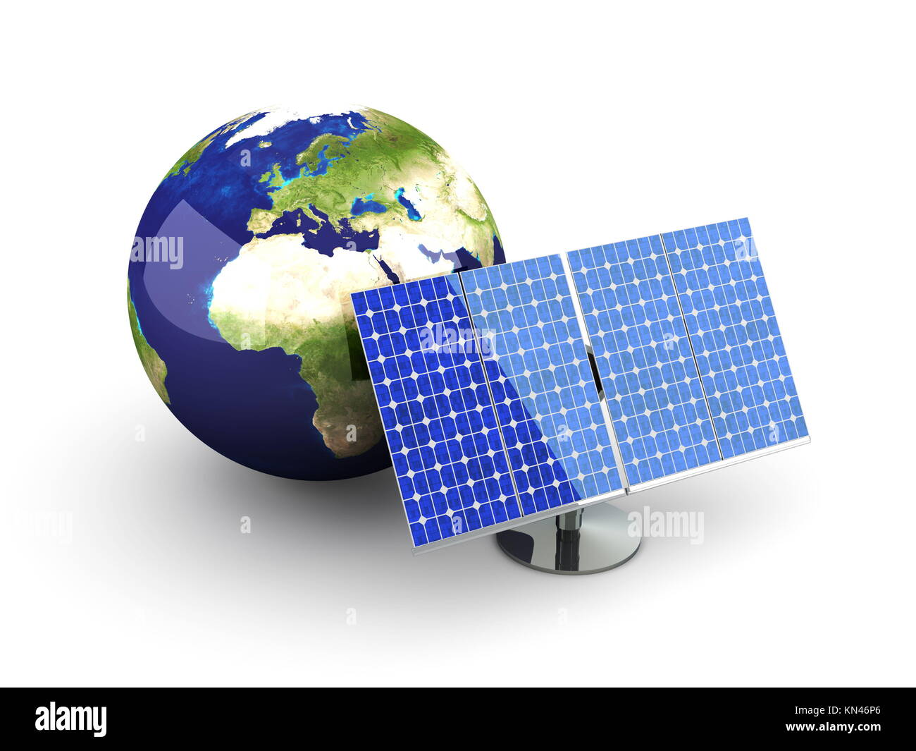 3D rendered Illustration. Isolated on white. - Stock Image