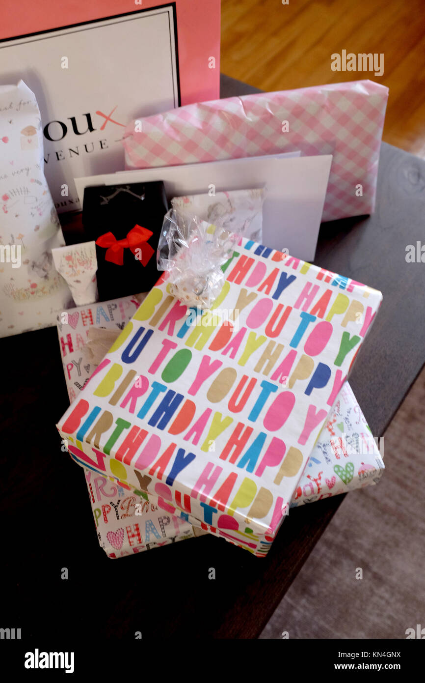 Wrapped Up Birthday Presents Gifts